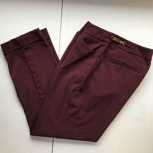 New York & Company Stretch Cuffed Trouser